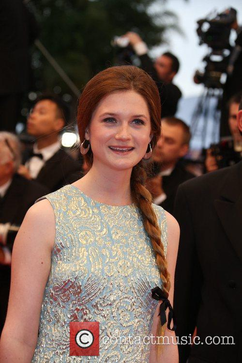 Actress Bonnie Wright  'Cosmopolis' premiere during the...