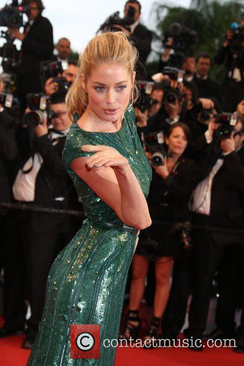 Model Doutzen Kroes  'Cosmopolis' premiere during the...
