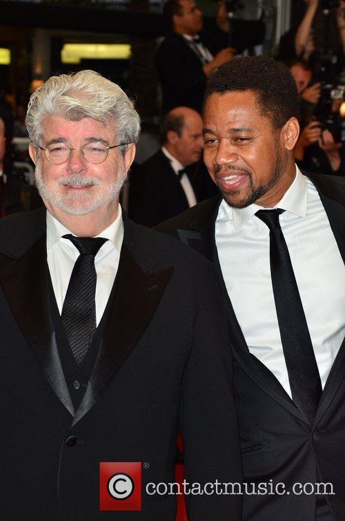George Lucas, Cuba Gooding Junior, Cannes Film Festival