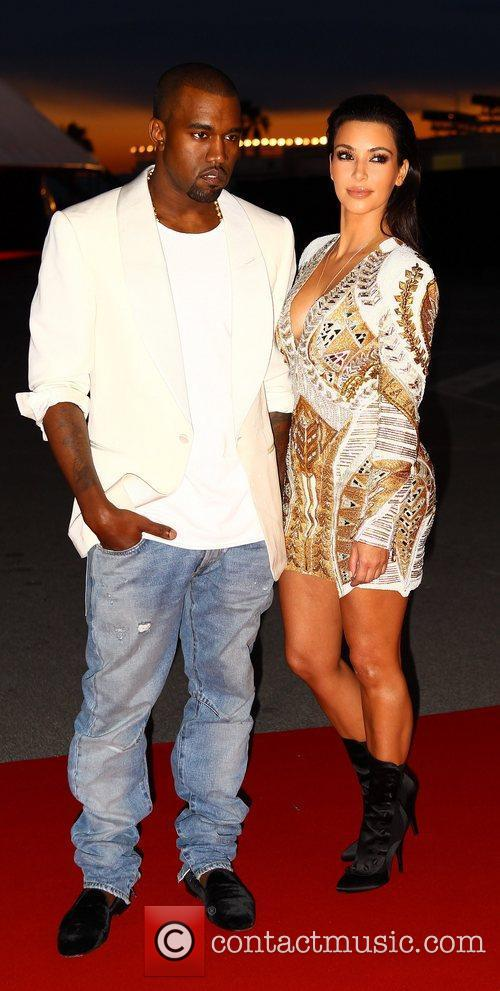 Kanye West and Kim Kardashian 6