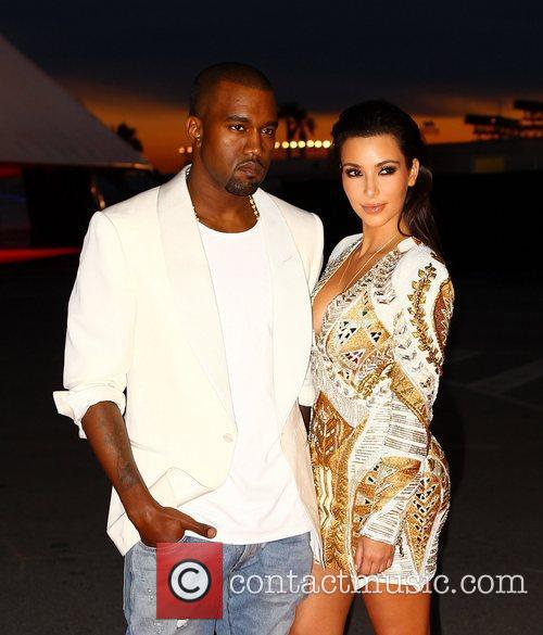 Kanye West and Kim Kardashian 9