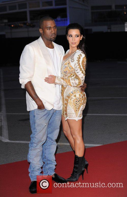 Kanye West and Kim Kardashian 13