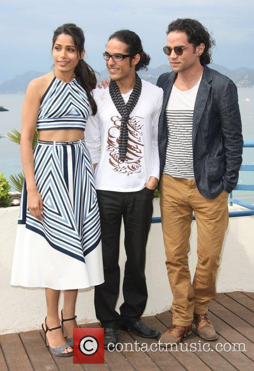 Freida Pinto, Alfred Molina, Reece Ritchie and Cannes Film Festival 2