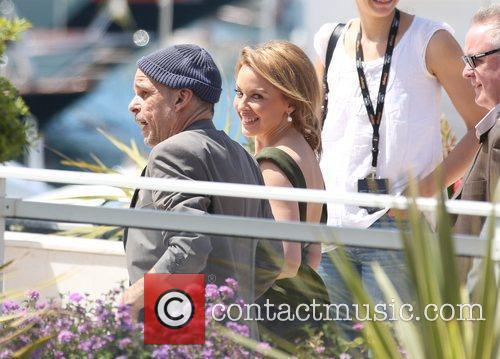 Denis Lavant and Kylie Minogue 'Holy Motors' photocall...