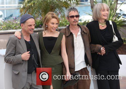 Edith Scob, Denis Lavant, Kylie Minogue and Leos Carax 2