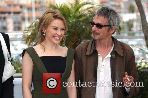 Kylie Minogue and director Leos Carax 'Holy Motors'...