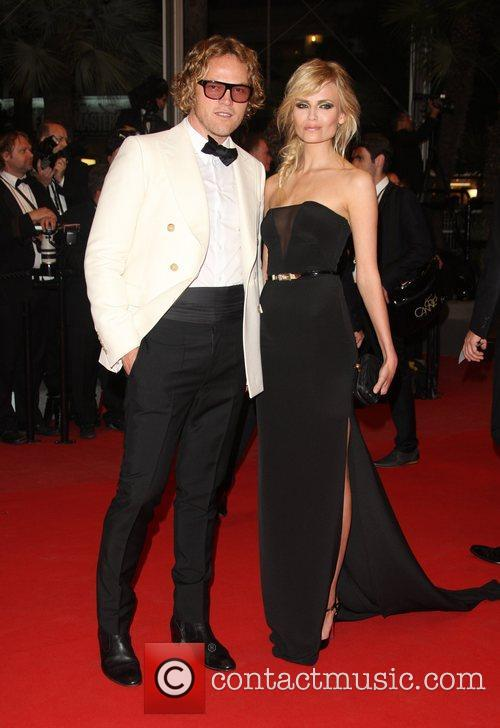 Natasha Poly and guest 'Holy Motors' premiere during...