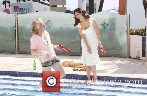 Leigh Francis, Kelly Brook and Cannes Film Festival 11