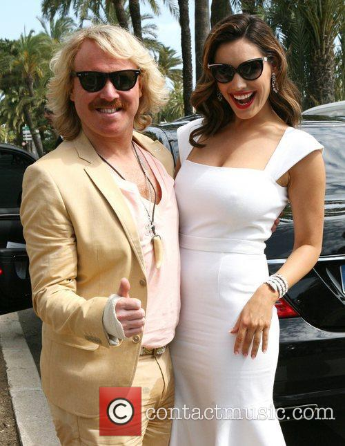 Leigh Francis, Kelly Brook, Cannes Film Festival