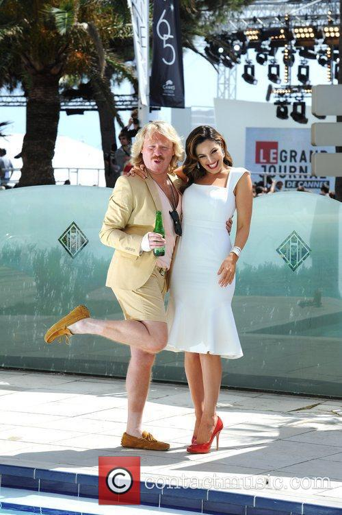 Leigh Francis, Kelly Brook and Cannes Film Festival 2