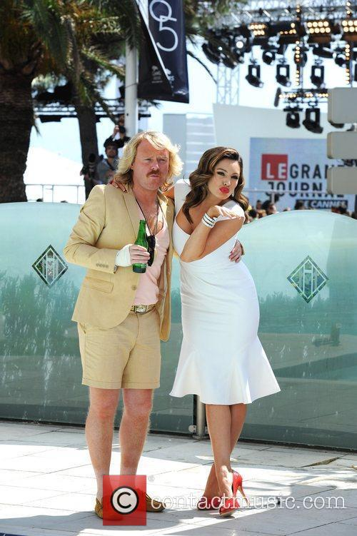 Leigh Francis, Kelly Brook and Cannes Film Festival 4
