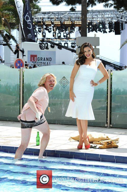 Leigh Francis, Kelly Brook and Cannes Film Festival 6