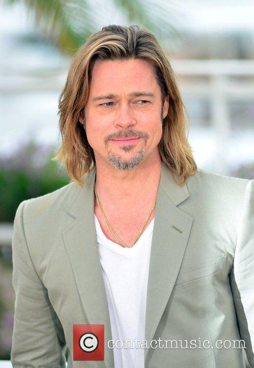Brad Pitt Killing Them Softly photocall during the...