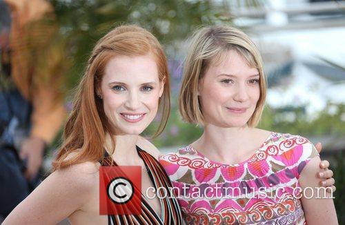 Jessica Chastain, Mia Wasikowska and Cannes Film Festival 2