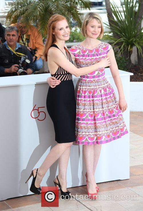 Jessica Chastain, Mia Wasikowska and Cannes Film Festival 3