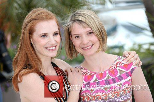 Jessica Chastain, Mia Wasikowska and Cannes Film Festival 5