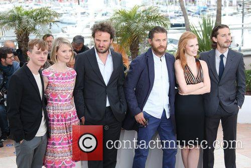 Mia Wasikowska, Jason Clarke, Jessica Chastain, Shia Labeouf, Tom Hardy and Cannes Film Festival 2
