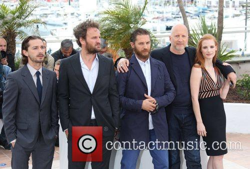 Shia Labeouf, Jason Clarke, Jessica Chastain, Tom Hardy and Cannes Film Festival 3
