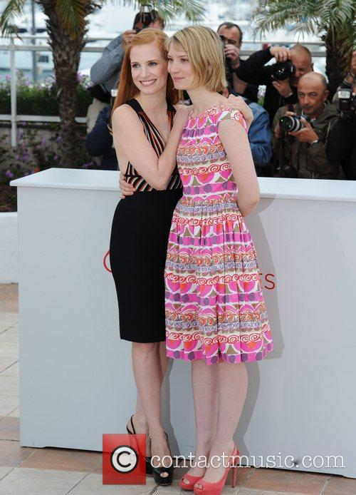 Jessica Chastain, Mia Wasikowska and Cannes Film Festival 6