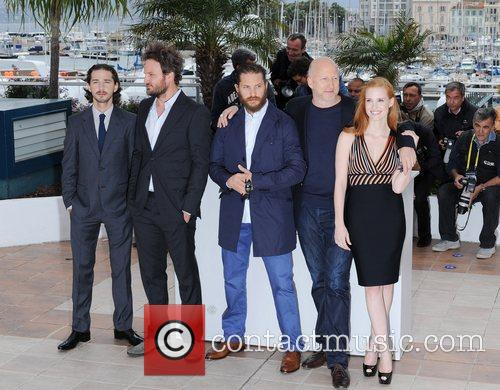 Shia Labeouf, Jason Clarke, Jessica Chastain, Tom Hardy and Cannes Film Festival 4