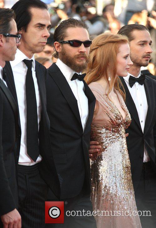 Nick Cave, Tom Hardy and Jessica Chastain 'Lawless'...