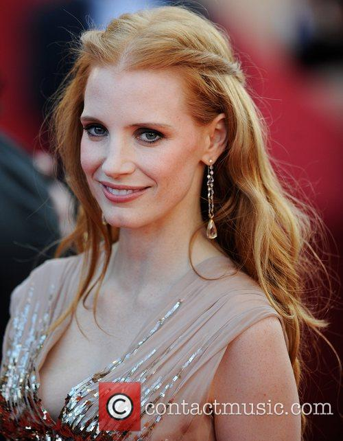 Jessica Chastain 'Lawless' premiere during the 65th Annual...
