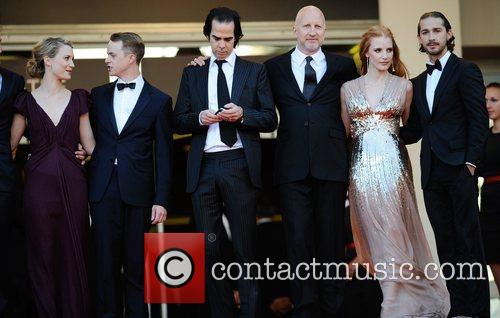 Mia Wasikowska, Jessica Chastain, Nick Cave, Shia Labeouf and Cannes Film Festival 2