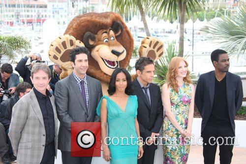 Martin Short, Ben Stiller, Chris Rock, David Schwimmer, Jada Pinkett-smith, Jessica Chastain and Cannes Film Festival 1