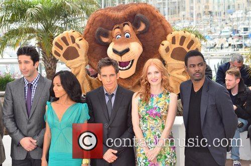 David Schwimmer, Ben Stiller, Chris Rock, Jada Pinkett-smith, Jessica Chastain and Cannes Film Festival