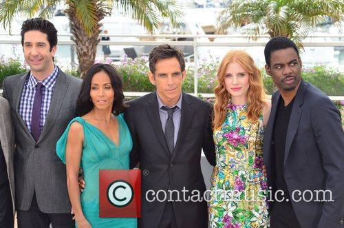 David Schwimmer, Ben Stiller, Chris Rock, Jada Pinkett-smith, Jessica Chastain and Cannes Film Festival 1