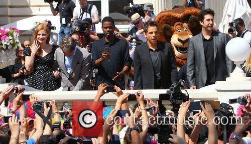 Jessica Chastain, Ben Stiller, Chris Rock, David Schwimmer and Cannes Film Festival