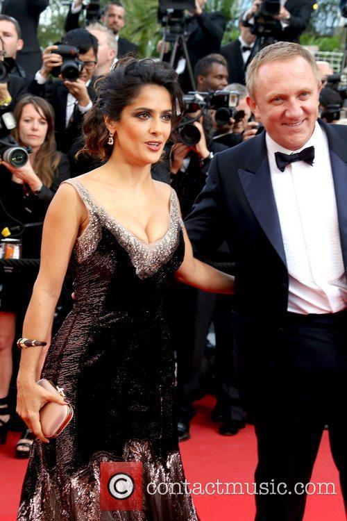 Salma Hayek, Francois-henri Pinault and Cannes Film Festival 2
