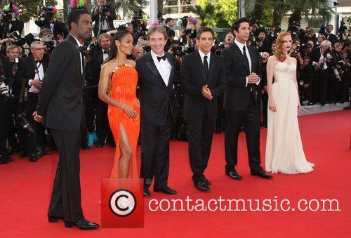 Chris Rock, Ben Stiller, David Schwimmer, Jada Pinkett-smith, Jessica Chastain, Martin Short and Cannes Film Festival 1
