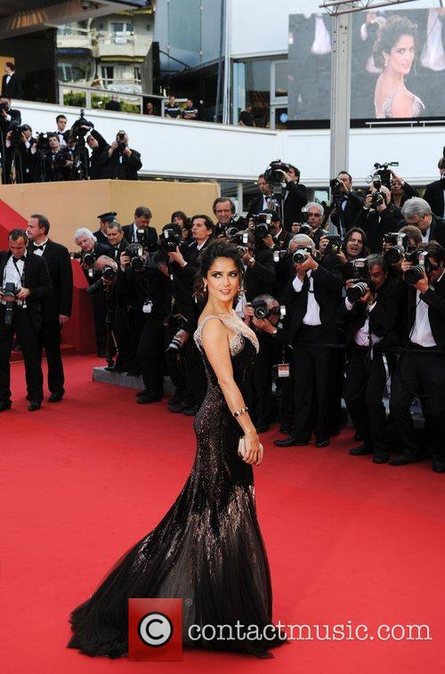 Salma Hayek and Cannes Film Festival 1