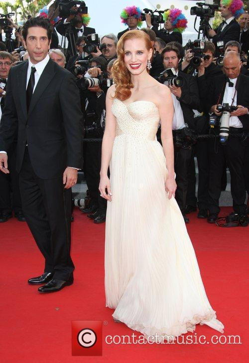 David Schwimmer, Jessica Chastain and Cannes Film Festival 2