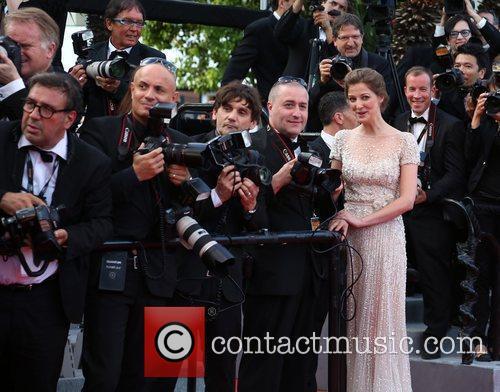 Alexandra Maria Lara 'On the Road' premiere during...