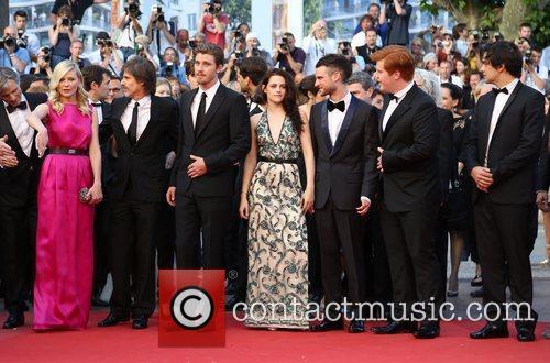 Walter Salles, Kirsten Dunst, Kristen Stewart, Roman Coppola and Tom Sturridge 2