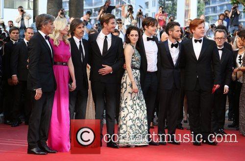 Walter Salles, Kirsten Dunst, Kristen Stewart, Roman Coppola and Tom Sturridge 3