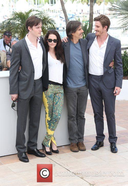 SAM RILEY, Garrett Hedlund, Kristen Stewart and Walter Salles 2