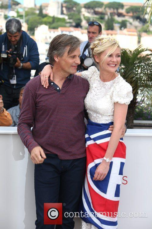 Kirsten Dunst and Viggo Mortensen  Photocall for...