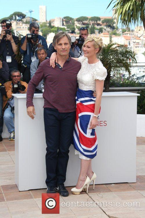 Kirsten Dunst, Viggo Mortensen, Cannes Film Festival