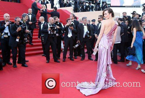 Milla Jovovich 'On the Road' premiere during the...