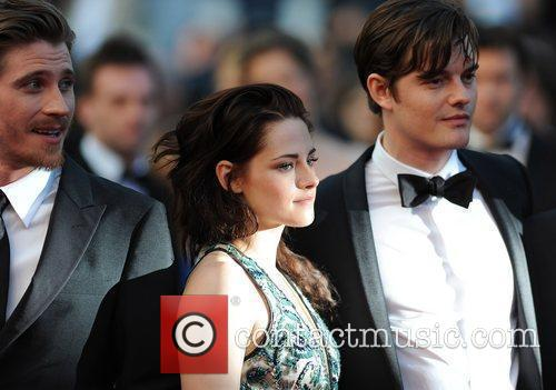 Sam Riley and Kristen Stewart