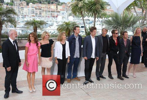 Thomas Vinterberg, Mads Mikkelsen, Morten Kaufmann, Thomas Bo Larsen and Cannes Film Festival
