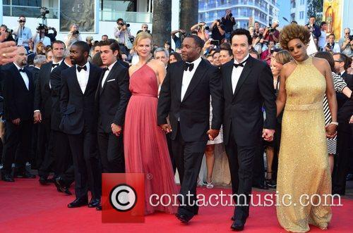 David Oyelowo, John Cusack, Lee Daniels, Macy Gray, Nicole Kidman and Zac Efron 2