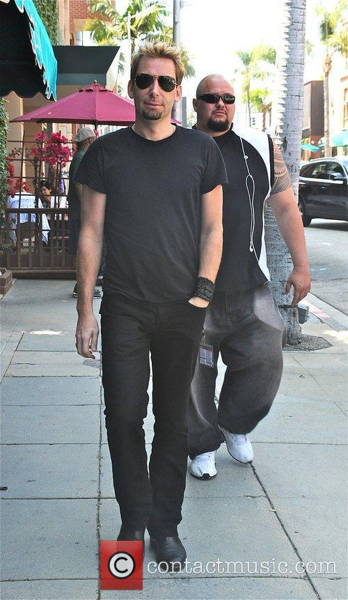 Nickelback front man Chad Kroeger is spotted out...