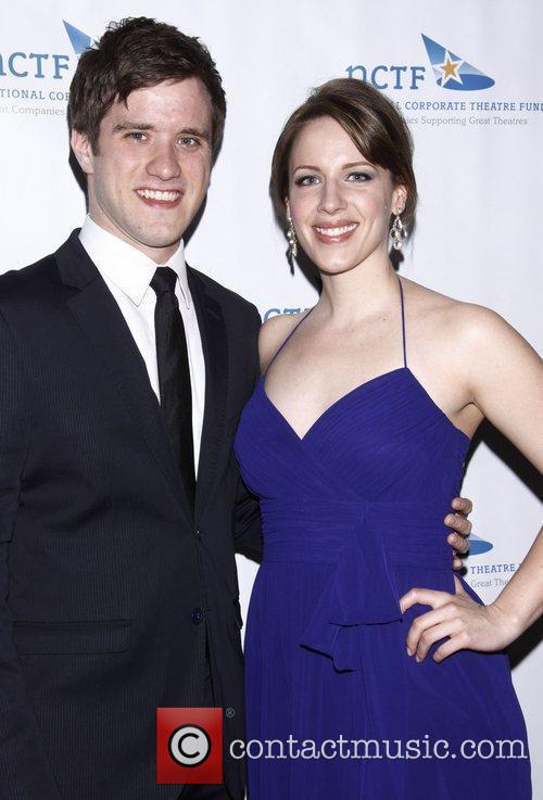 Andy Truschinski and Jessie Mueller NCTF's Annual 'Chairman's...