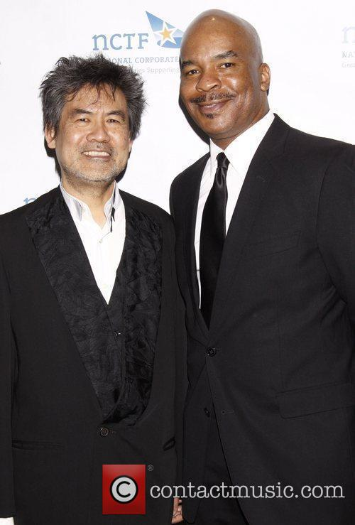 David Henry Hwang and David Alan Grier NCTF's...