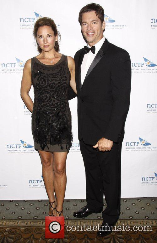 Jill Goodacre and Harry Connick, Jr. NCTF's Annual...