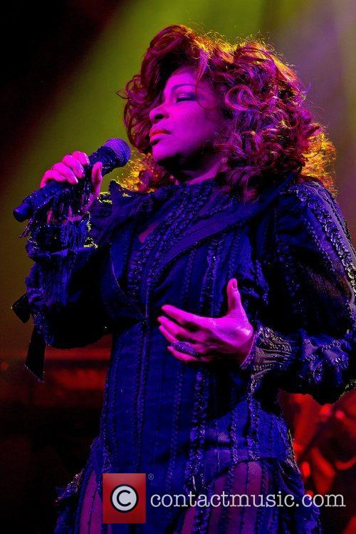Chaka Khan  performing at Tradgarn  Gothenburg...